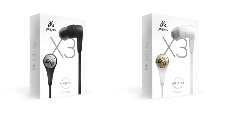Jaybird X3 wireless sport headphones