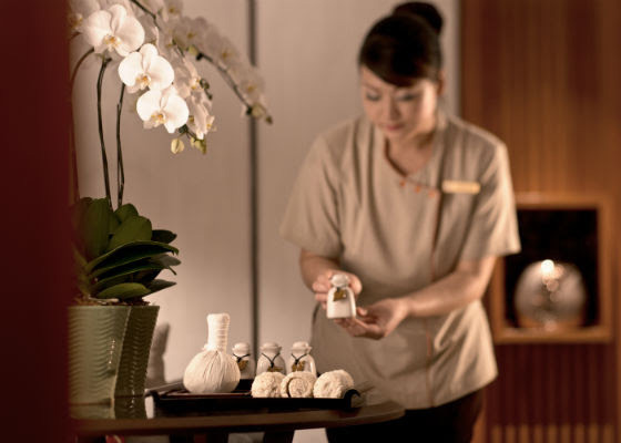 Spa Massage at Shangri-La Hotel Singapore