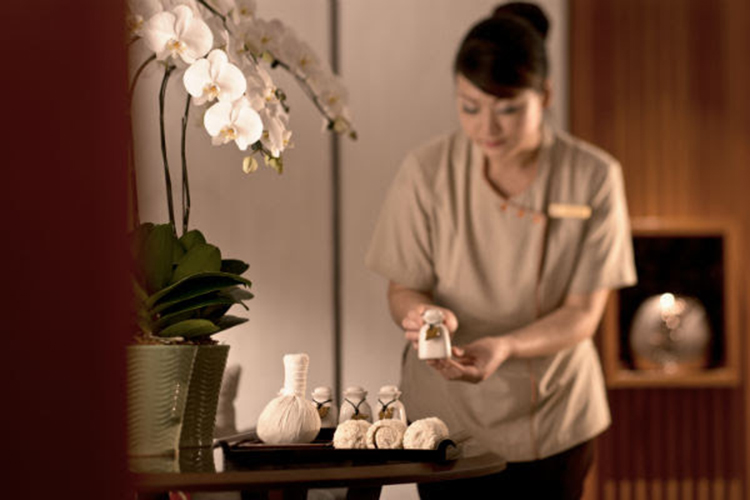Spa Massage at Shangri-La Hotel Singapore