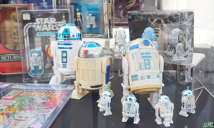 Star Wars Vintage Toy Displays Gardens by the Bay