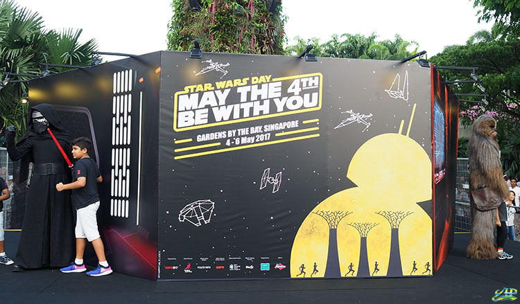 Star Wars Day Gardens by the Bay