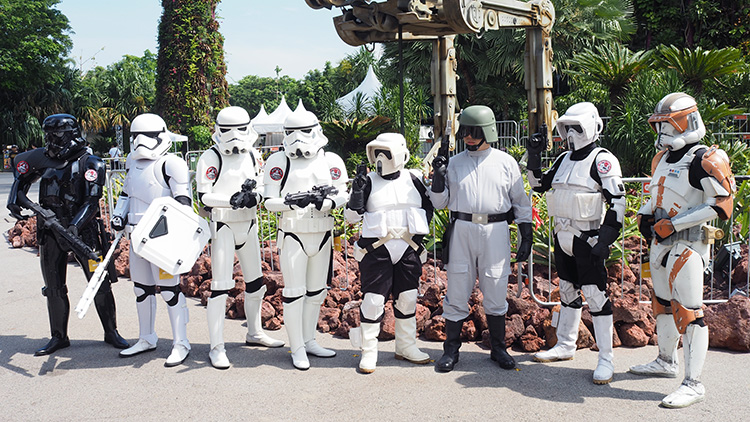 Star Wars Stormtrooper at Gardens by the Bay