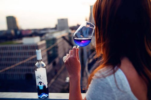blue wine in singapore