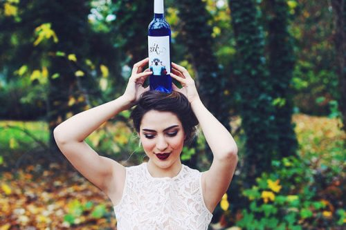 Sexy Gik Blue Wine