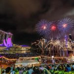 Marina Bay Fireworks 2018