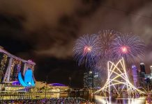 Marina Bay Countdown Fireworks