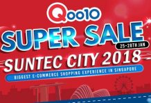 Qoo10 Super Sale 2018