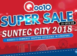Qoo10 Super Sale 2018