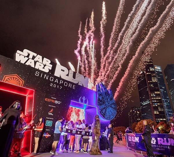 Star Wars Run Singapore 2018