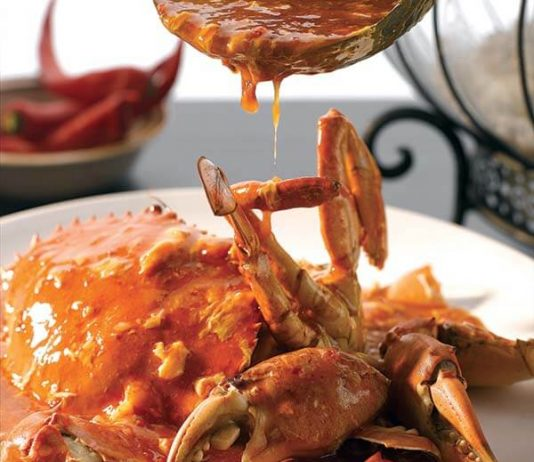 AhWok Chilly Crab