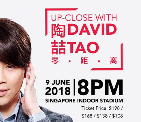 David Tao Singtel Music