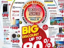 Singapore Electronics Fair 2018