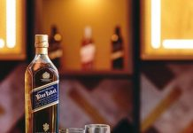 CÉ LA VI and Johnnie Walker Blue Label