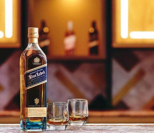 CÉ LA VI and Johnnie Walker Blue Label
