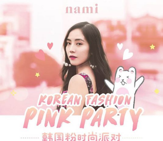 Korean Fashion Pink Party