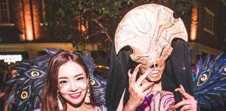 clarke quay Halloween