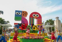 Sesame Street at USS