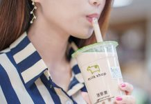 Taiwan Milksha bubble tea
