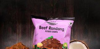 Beef Rendang Potato chip
