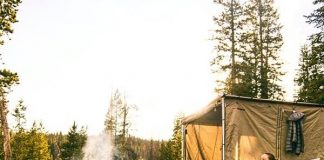 camping overseas
