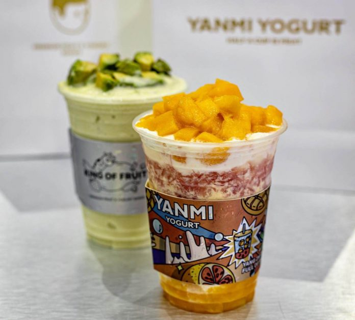 smoothie yogurt yanmi